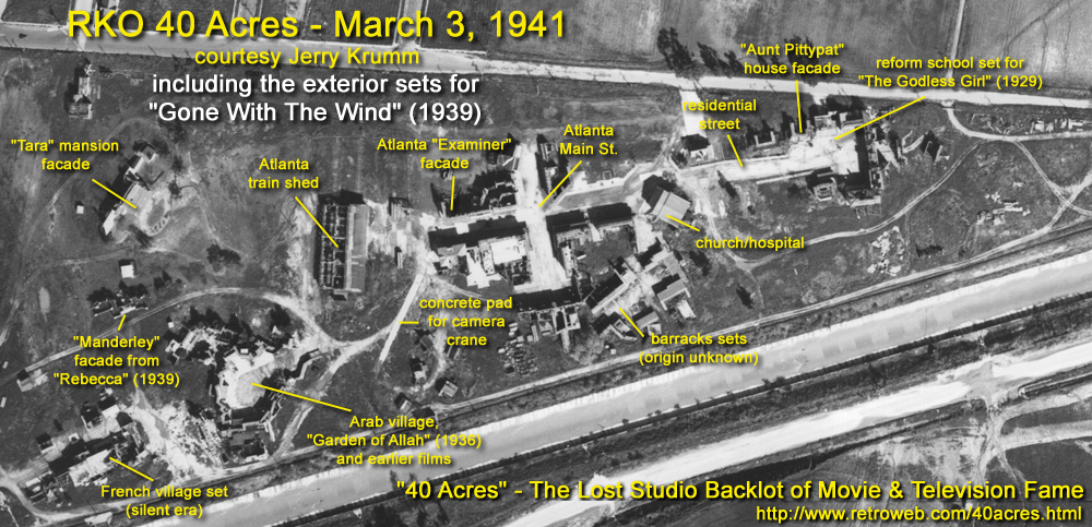 40 Acres - The Lost Studio Backlot of Movie & Television ...